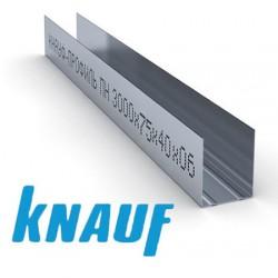 Профиль направляющий ПН Кнауф 75х40х0.6мм (3м)