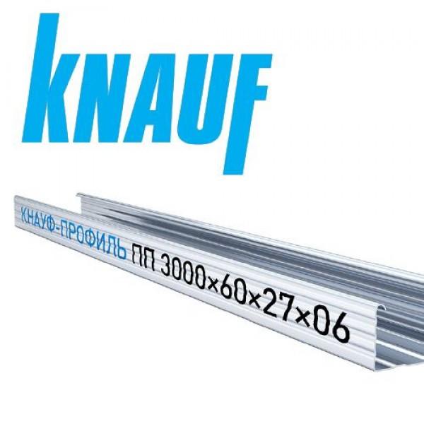 Купить Профиль потолочный Кнауф ПП 60х27х0.6мм (3м) в Уфе цена
