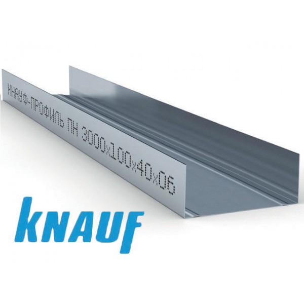 Купить Профиль направляющий Кнауф ПН 100х40х0.6мм (3м) в Уфе цена