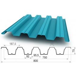 Профнастил Н75 (0.5 -0.7мм)