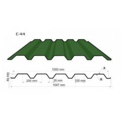 Профнастил С44 (0.5 -0.7мм)