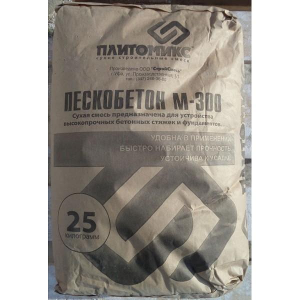Купить Пескобетон М300, 25 кг Плитомикс в Уфе цена