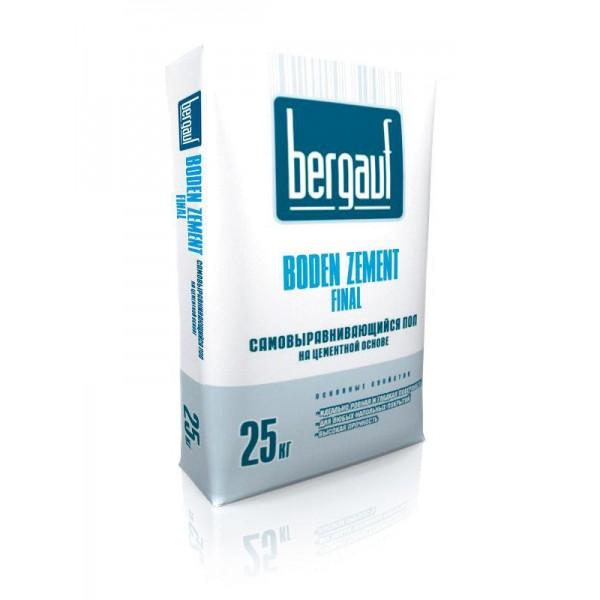 Купить Наливной пол Бергауф Boden Zement medium 25кг в Уфе цена