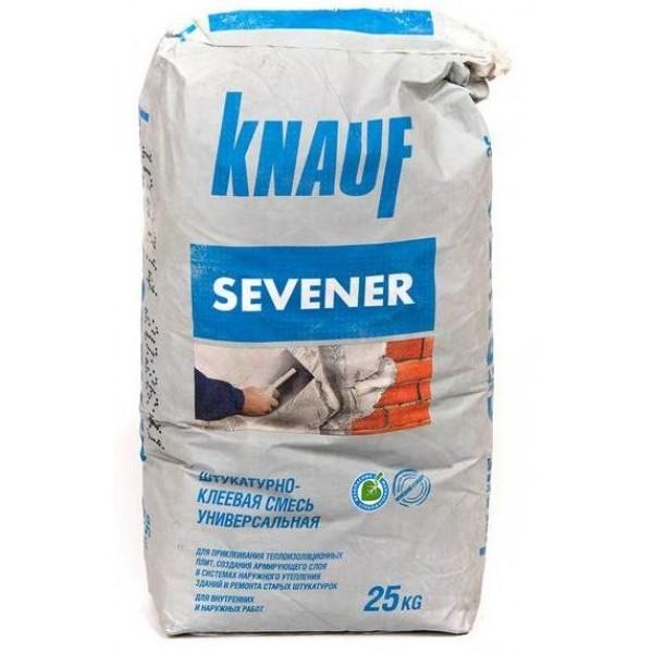 Купить Штукатурка Кнауф Севенер цементная декоративная 25кг в Уфе цена
