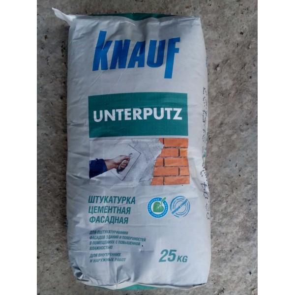 Купить Штукатурка Кнауф Унтерпутц цементная  декоративная 25кг в Уфе цена