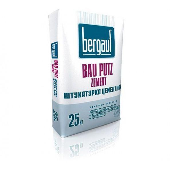 Купить Штукатурка Бергауф Bau Putz Zement цементная 25кг в Уфе цена