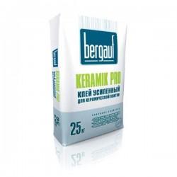 Клей плиточный Бергауф Keramik Pro усиленный, для керамической плитки  25кг