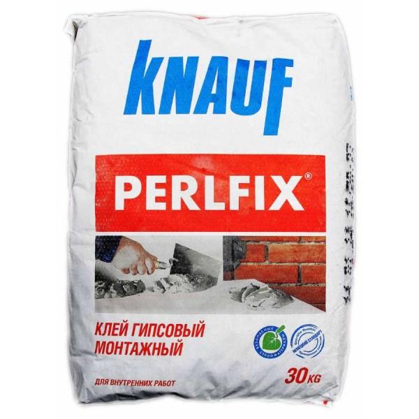 Купить Клей монтажный кнауф Перлфикс для гипсокартона 30 кг в Уфе цена