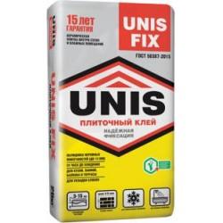 Клей плиточный Юнис Fix, 25кг  д/керам.