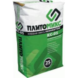 Монтажная смесь Плитомикс КС-05 для пенобетона и газоблока 25кг