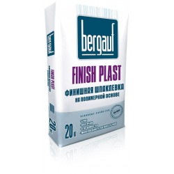 Шпаклевка Бергауф Finish Plast финишная полимерная 20кг