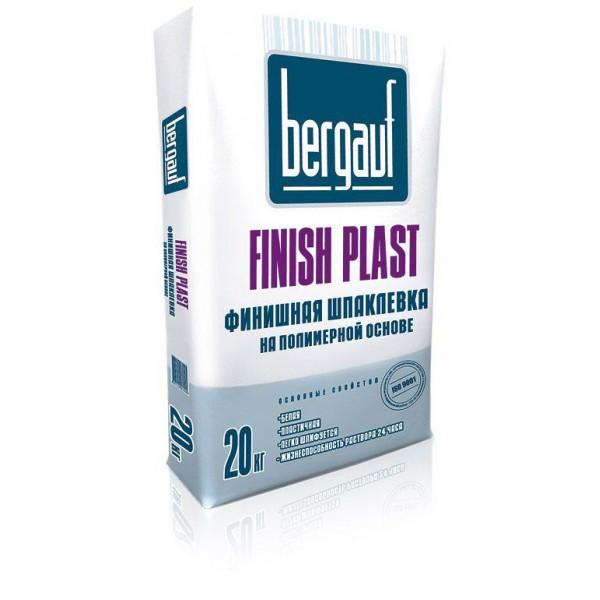 Купить Шпаклевка Бергауф Finish Plast финишная полимерная 20кг в Уфе цена