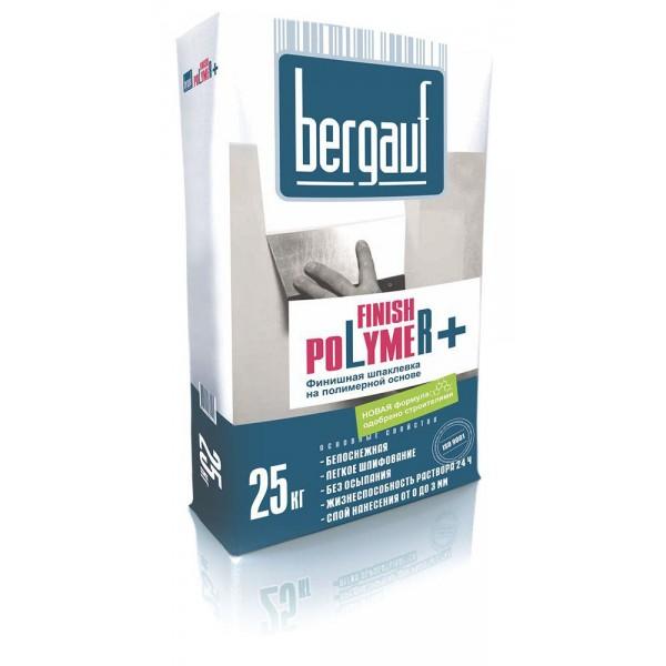 Купить Шпаклевка Бергауф Finish Polymer полимерная 25кг в Уфе цена