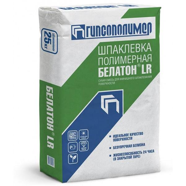Купить Шпаклевка Белатон LR, полимерная, финишная 25кг в Уфе цена