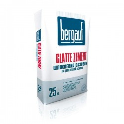 Шпаклевка Бергауф Glatte Zement цементная 25кг
