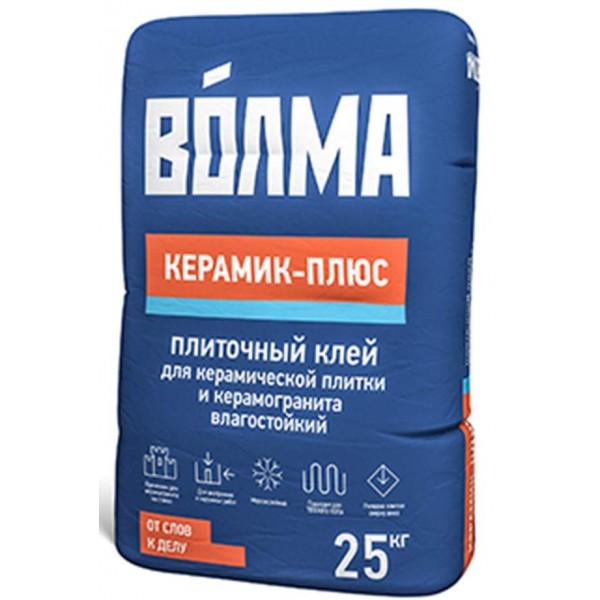 Купить Клей плиточный Волма Керамик+ плюс для керамической плитки и керамогранита 25кг в Уфе цена