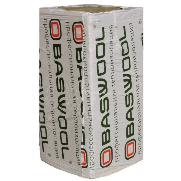 Купить Утеплитель Басвул Вент Фасад 90, 50х600х1200мм (4.32 м2, 0.216 м3) 6 плит/уп в Уфе цена