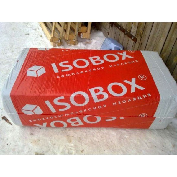 Купить Утеплитель Изобокс Вент 80, 50х1200х600 мм (2,16 м2, 0.216 м3) 6 плит/уп в Уфе цена
