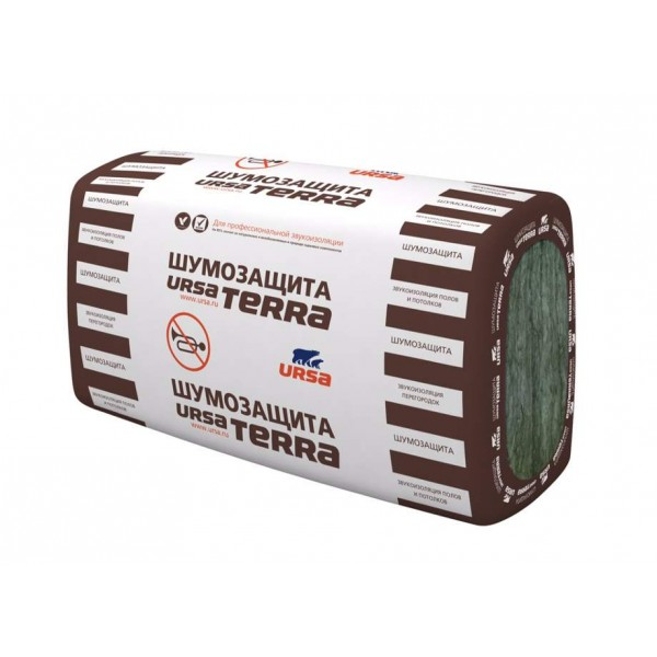 Купить Утеплитель Урса TERRA 34 PN, 50х610х1000мм (6.1 м2, 0.305 м3) 20 плит/уп в Уфе цена