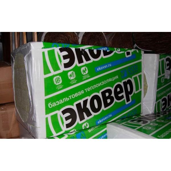 Купить Утеплитель Эковер ЭкоФасад Оптима 95, 50х600х1000мм (4.8 м2, 0.24 м3) 8 плит/уп в Уфе цена