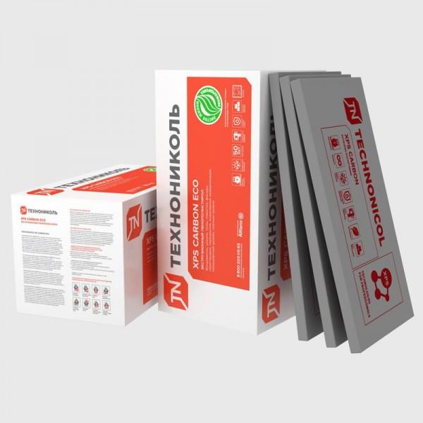 Купить Пенополистирол XPS Carbon Eco 50 мм, 1180*580 мм (5.74 м2, 0.273 м3) 8 шт/уп в Уфе цена