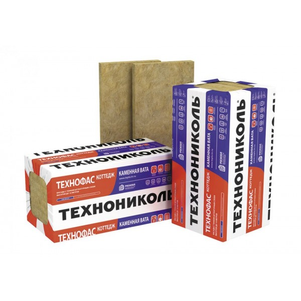 Купить Утеплитель Технониколь Технофас 135, 150х600х1200мм (1.44 м2, 0.216 м3) 2 плиты/уп в Уфе цена