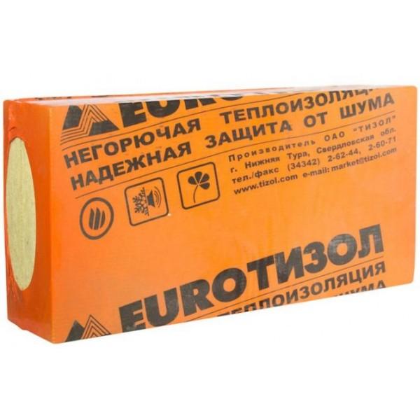Купить Утеплитель Тизол ЕВРО ЛАЙТ-40, 100х600х1000мм (4.8 м2, 0.48 м3) 8 плит/уп в Уфе цена