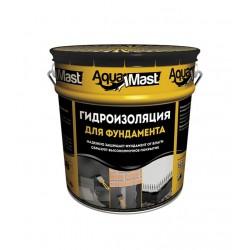 Мастика битумная AquaMast (18 кг) для фундамента